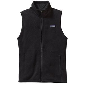 NEW Patagonia Better Sweater Vest Size L Black